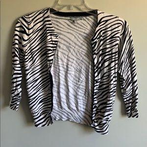 2 for $25 Zebra cardigan